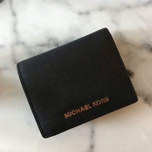 MICHAEL KORS: Black Wallet
